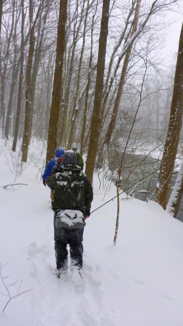 P1000308 walking through snow 180