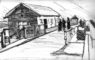Sketchbook A 2 - Boardwalk