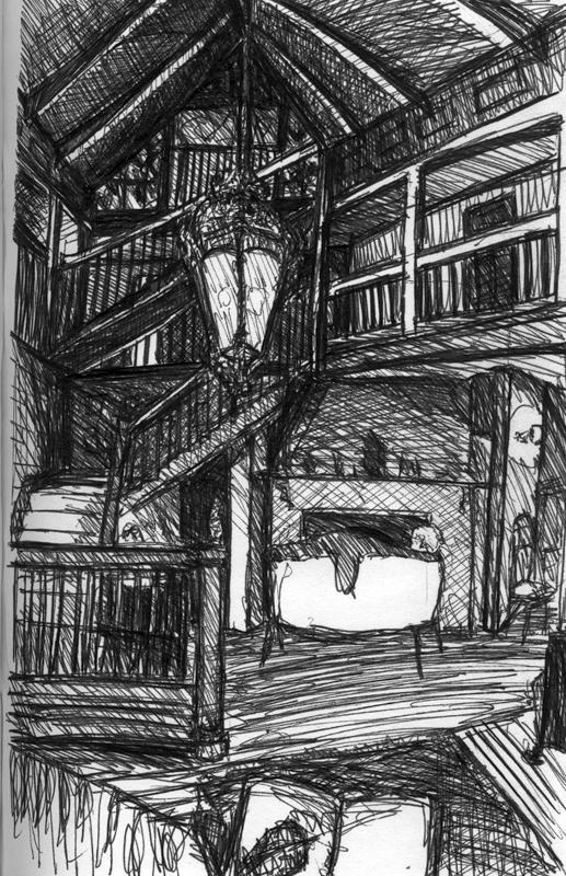 Sketchbook E 7 - Ivy Lodge, RI