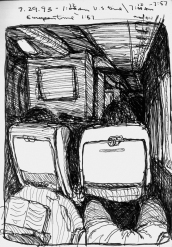 Sketchbook G 1 - Airplane - British Airways