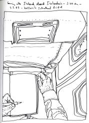 Sketchbook J 1 - Airplane - Icelandair