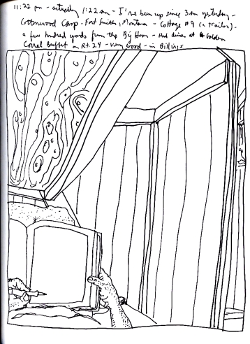 Sketchbook J 10 - Fort Smith, Montana