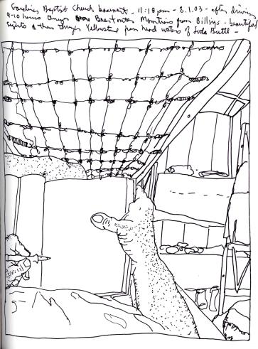 Sketchbook J 11 - Gardiner, Montana