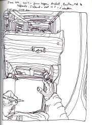 Sketchbook J 12 - Airplane -Icelandair