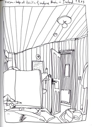 Sketchbook J 3 - Stadur, Iceland