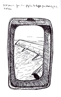 Sketchbook K 34 - Airplane Wing