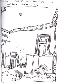 Sketchbook O 2 - Havana, Cuba