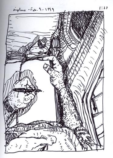 Sketchbook P 6 - Airplane