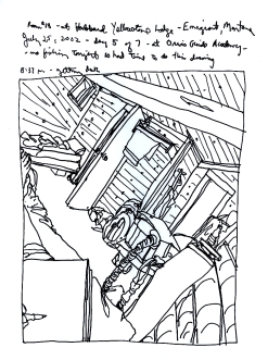 Sketchbook R 17 - Emigrant, Montana