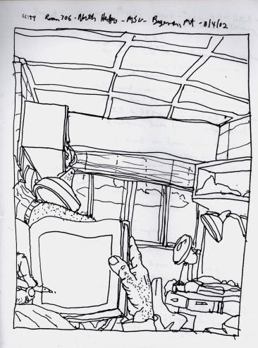 Sketchbook R 19 - Bozeman, MT