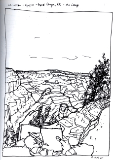 Sketchbook S 15-Grand Canyon, AR