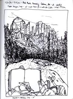 Sketchbook S 17- Sedona, AR