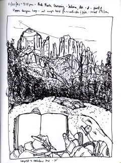 Sketchbook S 17- Sedona, AR