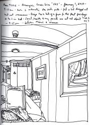 Sketchbook T 23 - Sky - Norwegian Cruise Lines