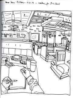 Sketchbook T 4 - Roscoe Diner