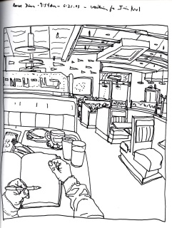 Sketchbook T 4 - Roscoe Diner