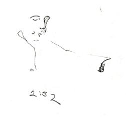 Sketchbooks B 12 - Jazz Club - Miami, FL