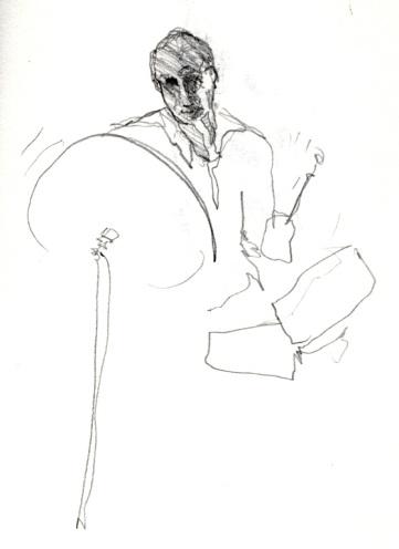 Sketchbooks B 15 - Jazz Club - Miami, FL