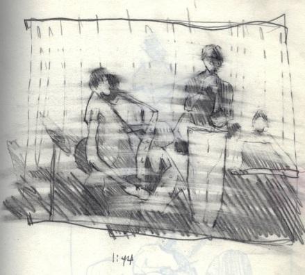 Sketchbooks B 2 - Jazz Club - Miami, FL