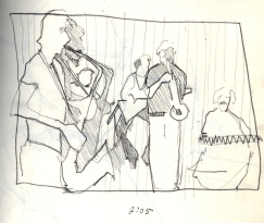 Sketchbooks B 5 - Jazz Club - Miami, FL