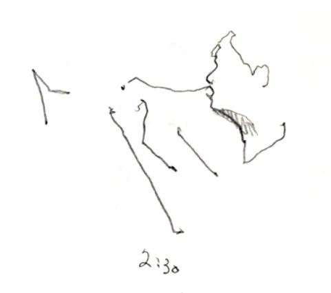 Sketchbooks B 8 - Jazz Club - Miami, FL