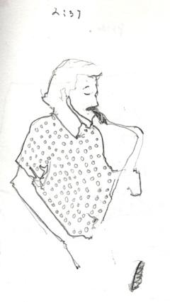 Sketchbooks B 9 - Jazz Club - Miami, FL