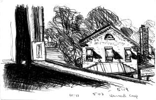 Sketchbooks F 15 - Harvard Coop, Cambridge, MA