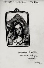 Sketchbooks F 19 - Keychain - El Greco