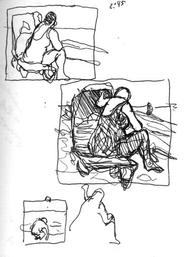 Sketchbooks I 9 - Figure - Marco Island, FL