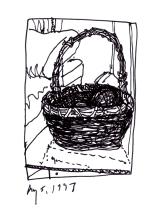 K12-basket of spanish seaweed balls-Dunkirk, NY-1997-100 rev