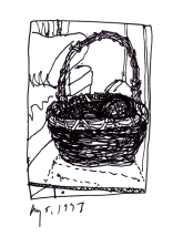 K12-basket of spanish seaweed balls-Dunkirk, NY-1997-100 rev