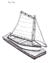 Sketchbook K44 - Boat Construction - Dunkirk, NY