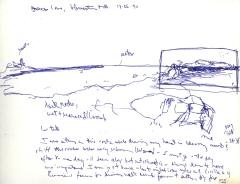 Sketchbooks L 2 - Brace's Cove Sketch, Gloucester, MA
