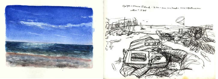 Sketchbooks L 25 C - Beach - Marco Island, FL