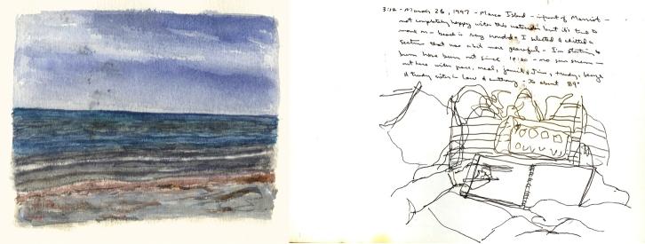 Sketchbooks L 26 C - Beach - Marco Island, FL