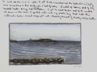 Sketchbooks M 15 - Good Harbor Beach, Gloucester, MA