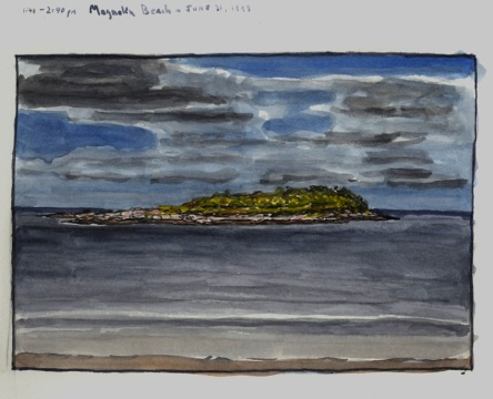 Sketchbooks M 17 - Magnolia Beach, MA