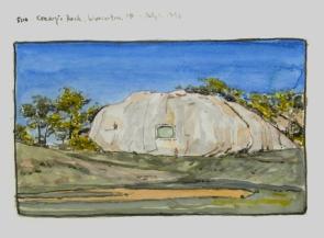 Sketchbooks M 18 - Tablet Rock, Gloucester, MA