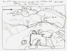 Sketchbooks M 20 - Half Moon Beach, Gloucester, MA