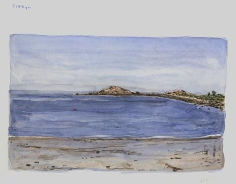 Sketchbooks M 6 - Brace Cove, Gloucester, MA