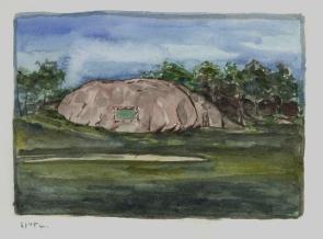 Sketchbooks M 9 - Tablet Rock, Gloucester, MA