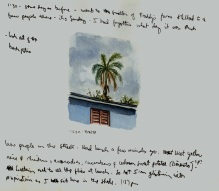 Sketchbook Q 5 - Agramonte, Cuba