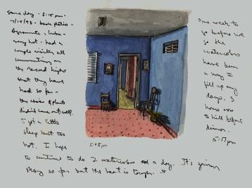 Sketchbook Q 9 - Agramonte, Cuba