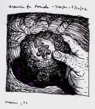 Sketchbook R 2 - Graciela's drawing - Miami, FL