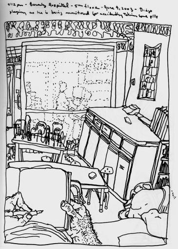 Sketchbooks R 9 - Beverly Hospital, Beverly, MA