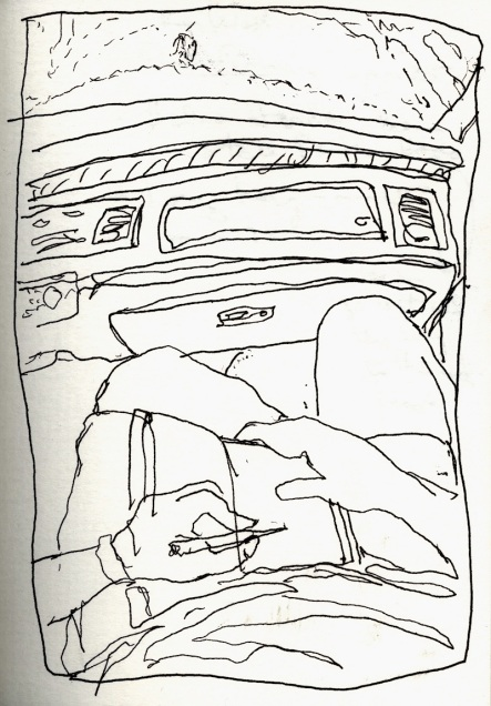 Sketchbooks S C I5 - In Van to Key West, FL