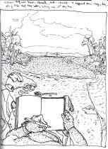 Sketchbooks T 13 - Half Moon Beach, Gloucester, MA