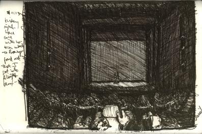 Sketchbooks E 15 - Marvel Theatre - SUNY Fredonia, NY
