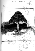 Sketchbooks F 7 - Beach - Isla de Mujeres, Mexico