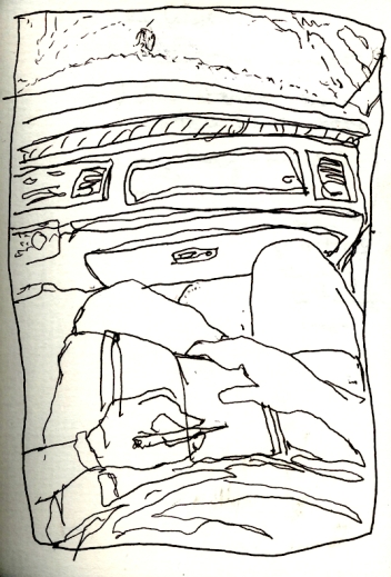 Sketchbooks I 7 - Driving to Key West, FL